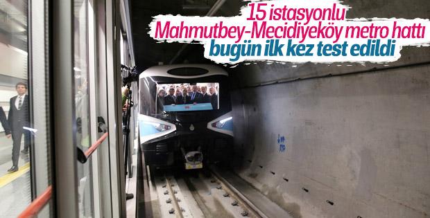 İkinci sürücüsüz metronun test sürüşleri başladı