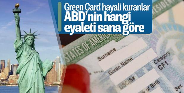 Green Card aldıktan sonra ABD'de nereye yerleşebilirim