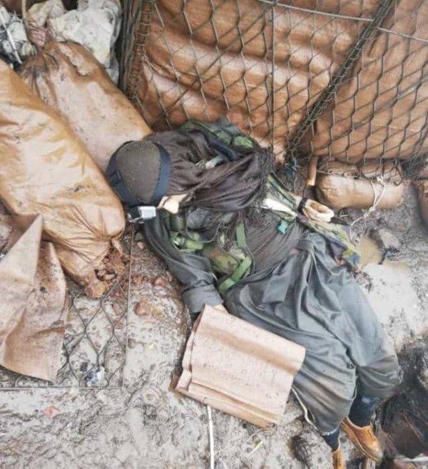Karakola saldırı hazırlığındaki terörist öldürüldü
