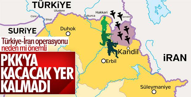 TSK İran ile ortaklaşa PKK'yı bitirecek