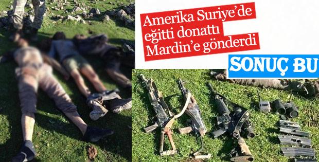 Mardin'de PKK'lıların sığınağına operasyon düzenlendi