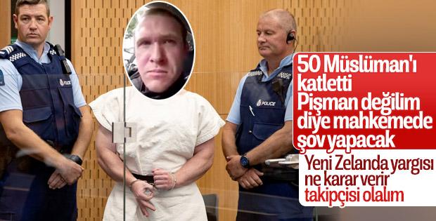 50 Müslüman'ın katili pişman değil