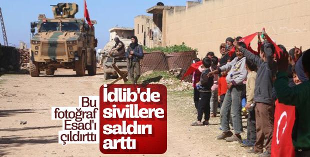 İdlib'de Esad'ın ordusu saldırılarını sürdürüyor