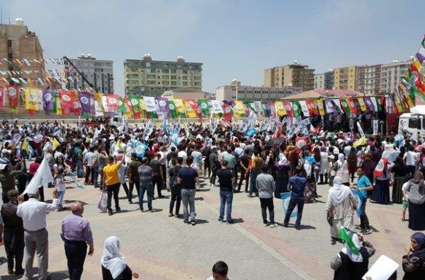 HDP, CHP için oy toplama çabalarını sürdürüyor