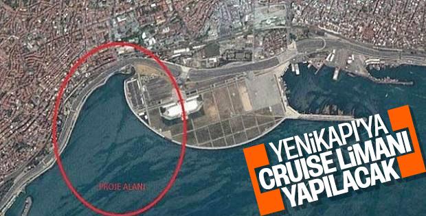 Yenikapı'ya cruise limanı inşa edilecek