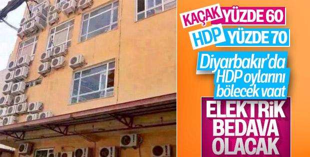 Diyarbakır'da bağımsız adayın vaadi: Bedava elektrik