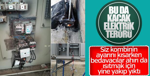 Mardin ve Van'da elektrik sayacı panoları kundaklandı
