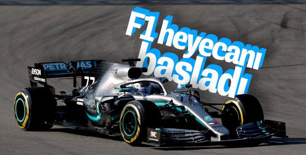 F1 heyecanı hızlı başladı