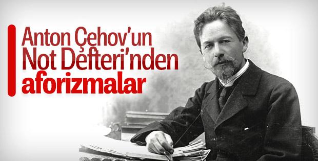 Anton Çehov'un Not Defteri'nden aforizmalar