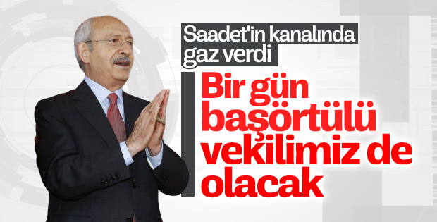 Kılıçdaroğlu başörtüsü sorununu çözdüğünü iddia etti