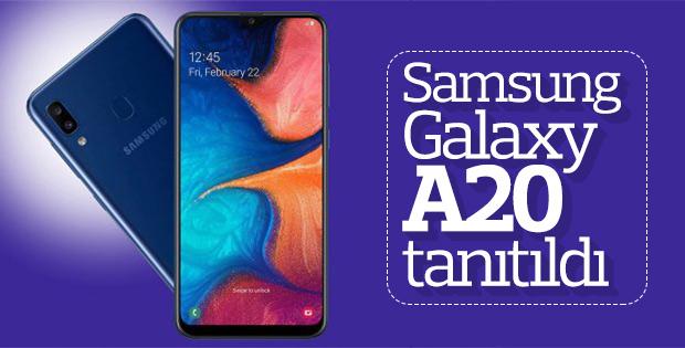 Samsung Galaxy A20 tanıtıldı: İşte özellikleri ve fiyatı