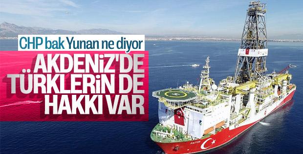 Yunan Bakan'ın Türkiye mesajı