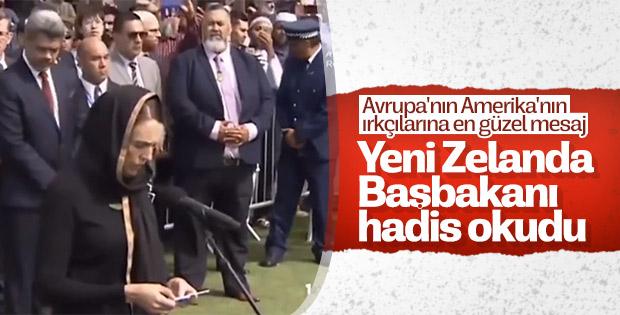 Ardern, Hz. Muhammed'in hadisi ile acısını anlattı