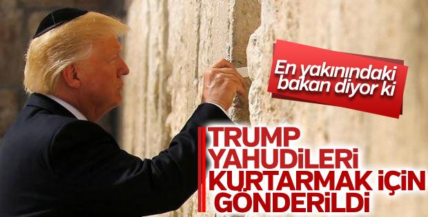 Pompeo: Tanrı Trump'ı Yahudileri kurtarmak için gönderdi