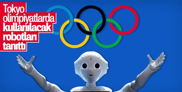 Tokyo, 2020 olimpiyatları için destek robotlarını tanıttı