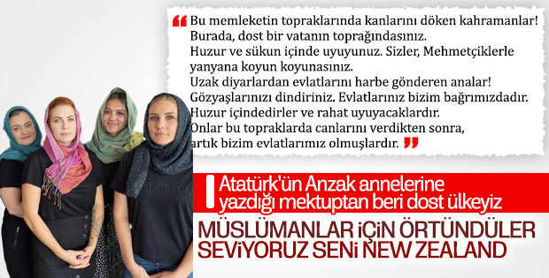 Yeni Zelanda Türk dostluğunu bir kez daha gösterdi