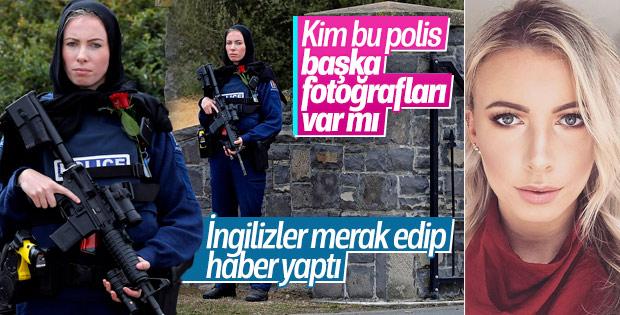 İngiliz medyasının gündemi Yeni Zelandalı kadın polis