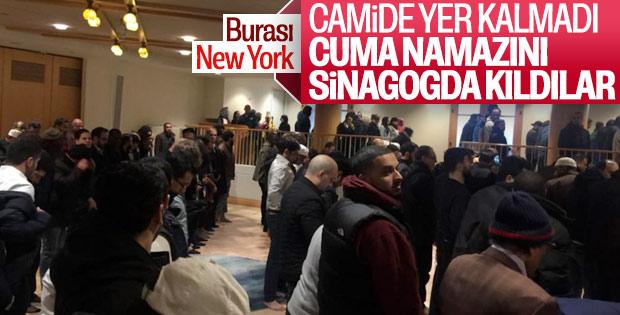 New York'taki sinagog, kapılarını Müslümanlara açtı