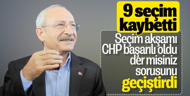 Kılıçdaroğlu'nun başarı kıstası yok