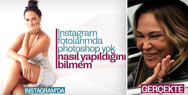 Hülya Avşar photoshop yapmadığını söyledi