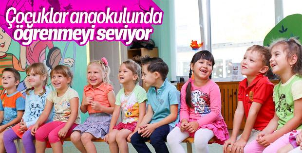 Çocuklarda öğrenme hevesi okul öncesinde başlıyor
