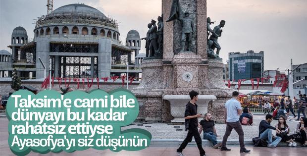 NYT'nin Taksim Camii hazımsızlığı