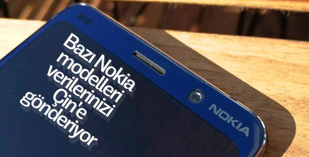 Bazı Nokia modelleri Çin'e izinsiz veri gönderiyor
