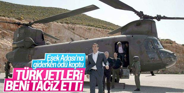 Yunanistan Başbakanı Çipras: Türk jetleri beni kovaladı