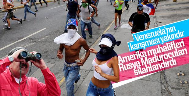 Rusya'dan Venezuela'ya tıbbi ve askeri yardım