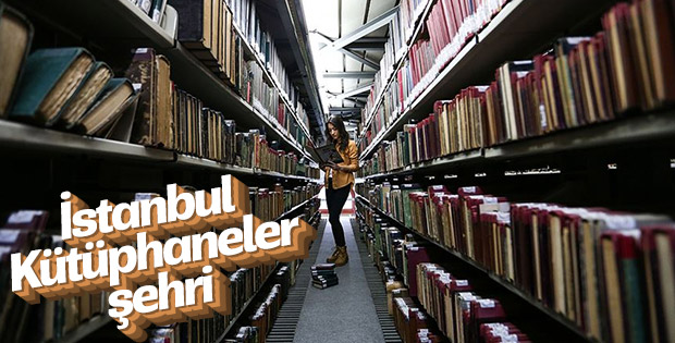 İstanbul halk kütüphaneleriyle okuyucuya hizmet veriyor