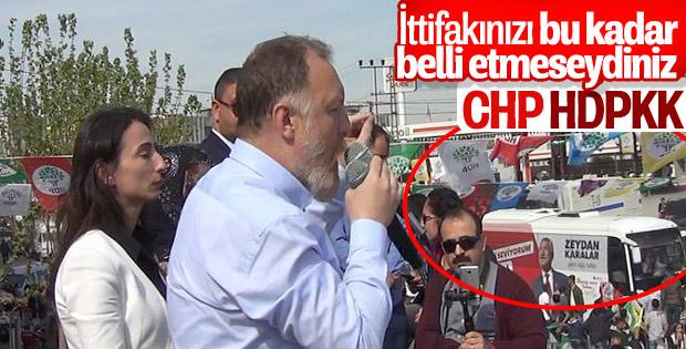 HDP'nin Adana mitingine CHP desteği