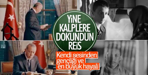 Erdoğan'ın gençlik hayali kısa filme konu oldu