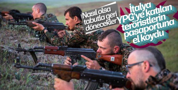 İtalya YPG'ye katılanları gözetime aldı