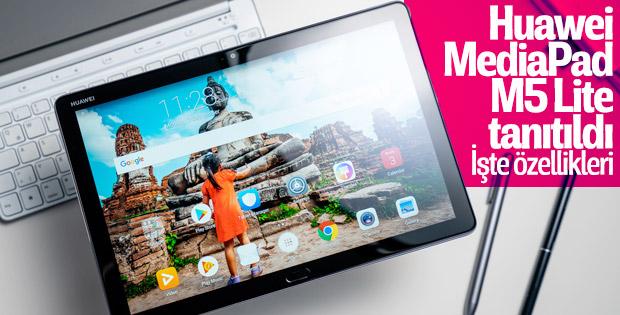 Huawei MediaPad M5 Lite tanıtıldı: İşte özellikleri