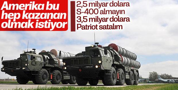 ABD'den Türkiye'ye dolaylı yönden S-400 baskısı
