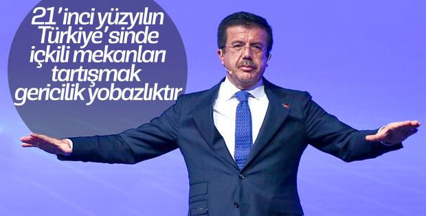 Nihat Zeybekci'den içkili mekan açıklaması