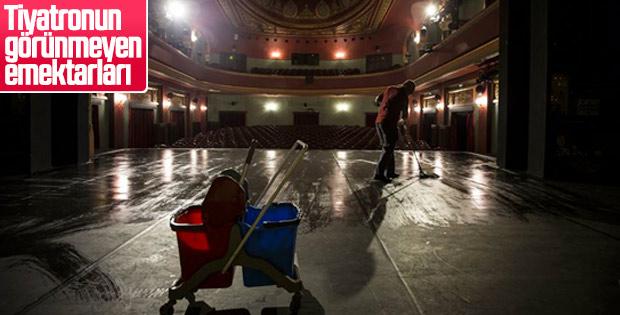 Tiyatronun sahne arkasının emekçileri