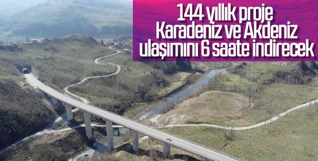 Karadeniz-Akdeniz otoyolu projesi ihracatı canlandıracak