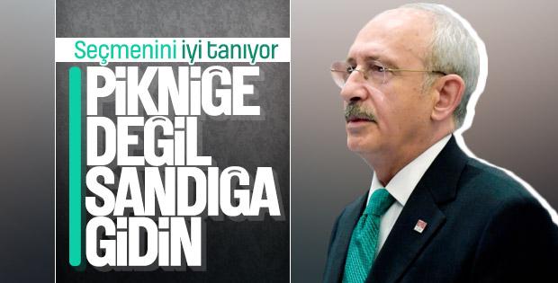 Kılıçdaroğlu seçmenlerini uyardı: Sandığa gidin