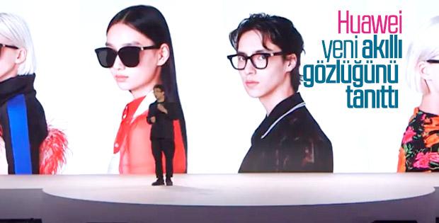 Huawei yeni akıllı gözlüğünü tanıttı