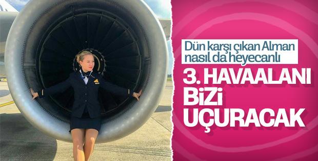 Lufthansa yeni havalimanından uçacak