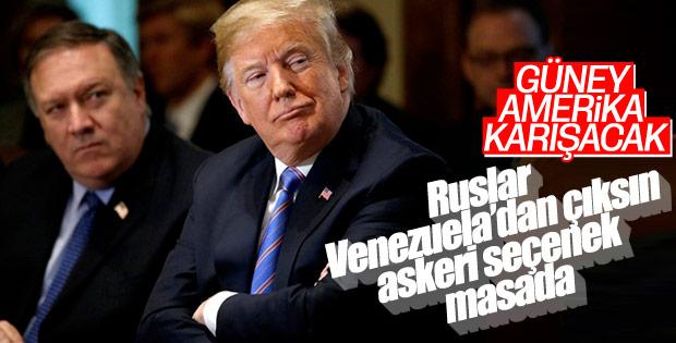ABD Başkanı Trump: Rusya Venezuela'dan çıkmalı