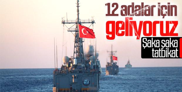 Deniz Kuvvetleri'nden Doğu Akdeniz'de tatbikat