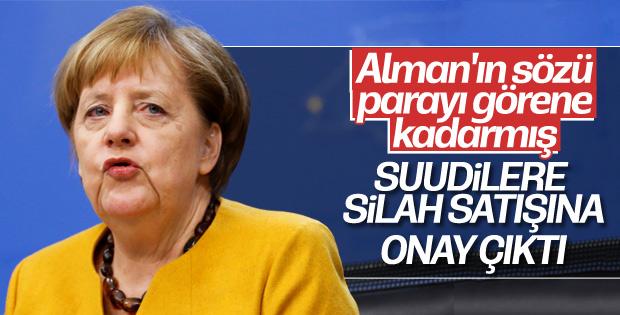 Almanya'dan Suudi Arabistan'a silah satışına onay