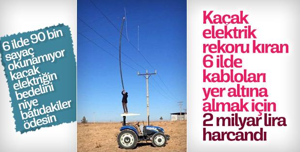 Güneydoğu'ya elektrik yatırımı