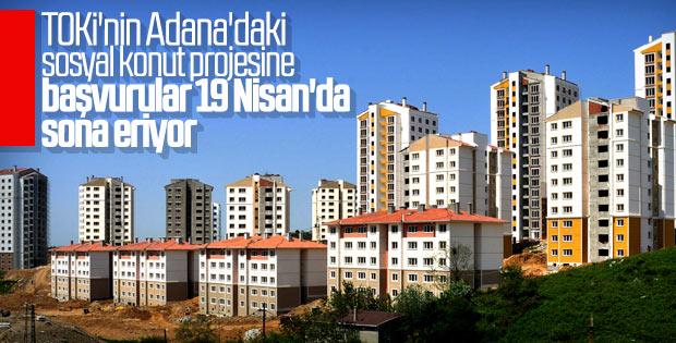 TOKİ Adana'ya 2 bin 275 konut inşa edecek