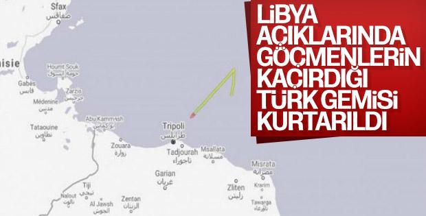 Libya'da kaçırılan Türk gemisi kurtarıldı