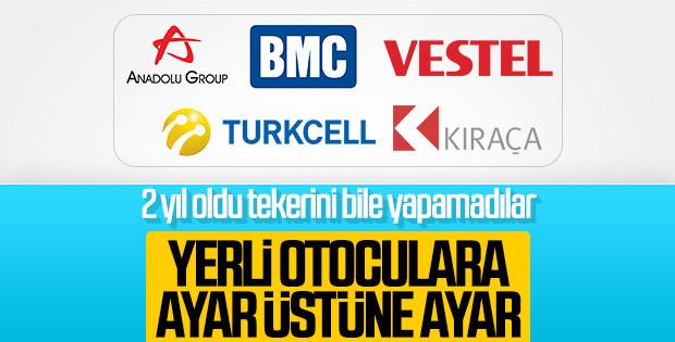 Cumhurbaşkanı Erdoğan'dan yerli otomobil uyarısı