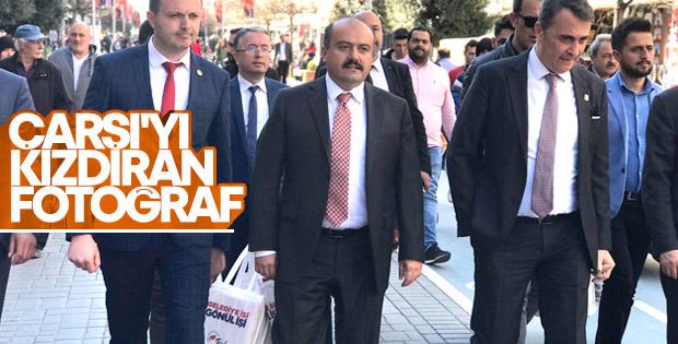 Fikret Orman'ın ziyareti Beşiktaşlıları kızdırdı