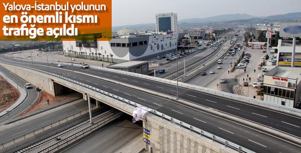 Panayır Köprülü Kavşağı açıldı